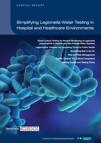 Simplifying Legionella Water Testing in Hospital and