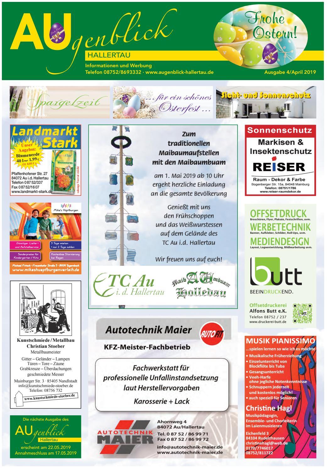 Augenblick Hallertau Ausgabe April 2019 By Augenblick