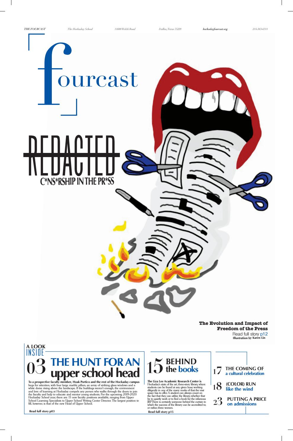 The Fourcast April 2019 By The Fourcast Issuu