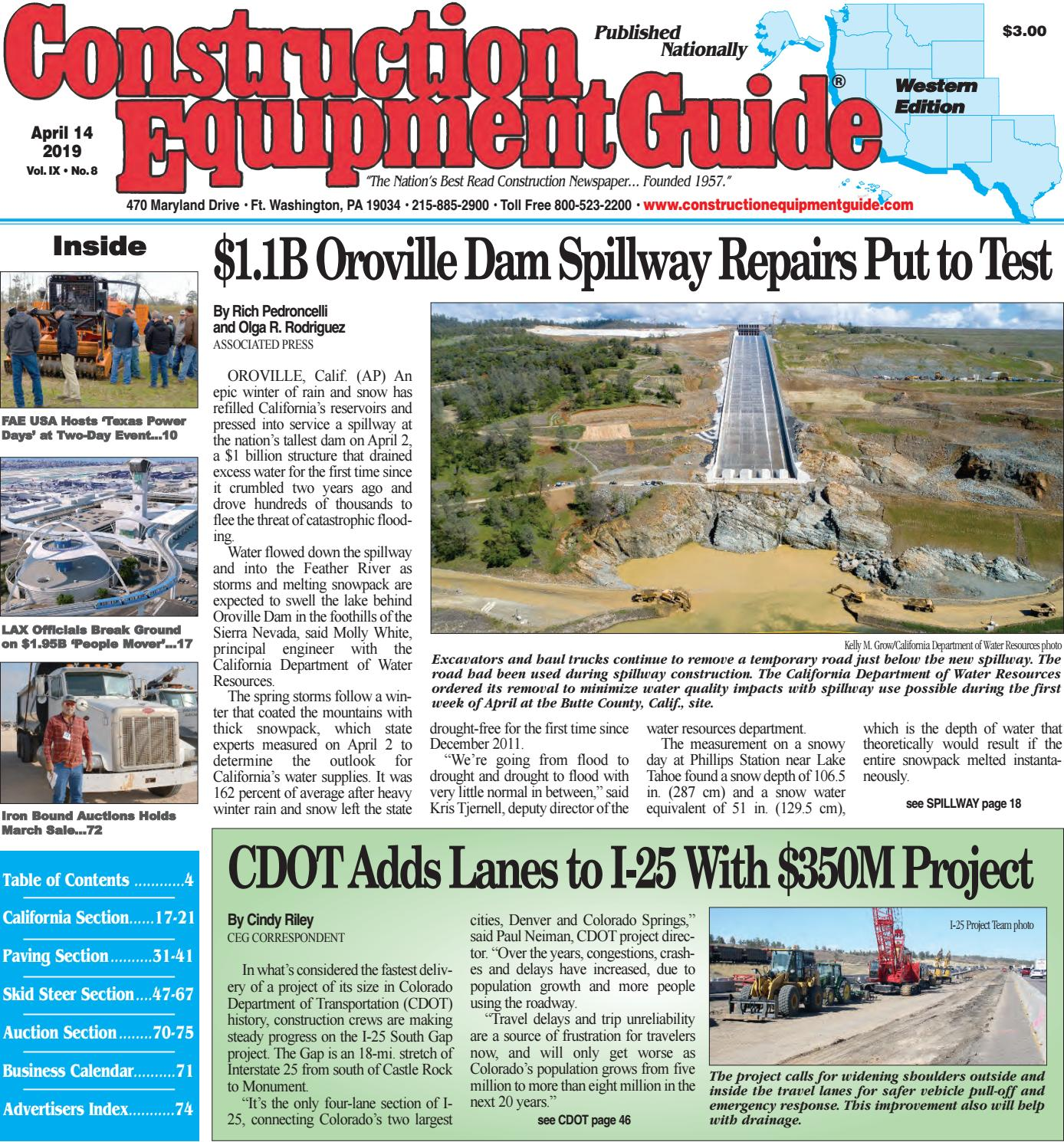West 8 April 14, 2019 by Construction Equipment Guide - issuu