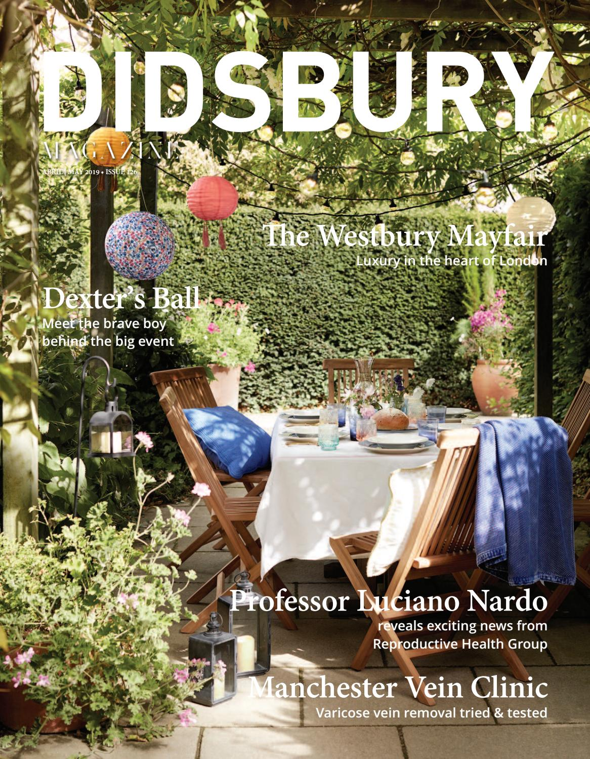 Didsbury Magazine Apr May 2019 By Salutions Issuu