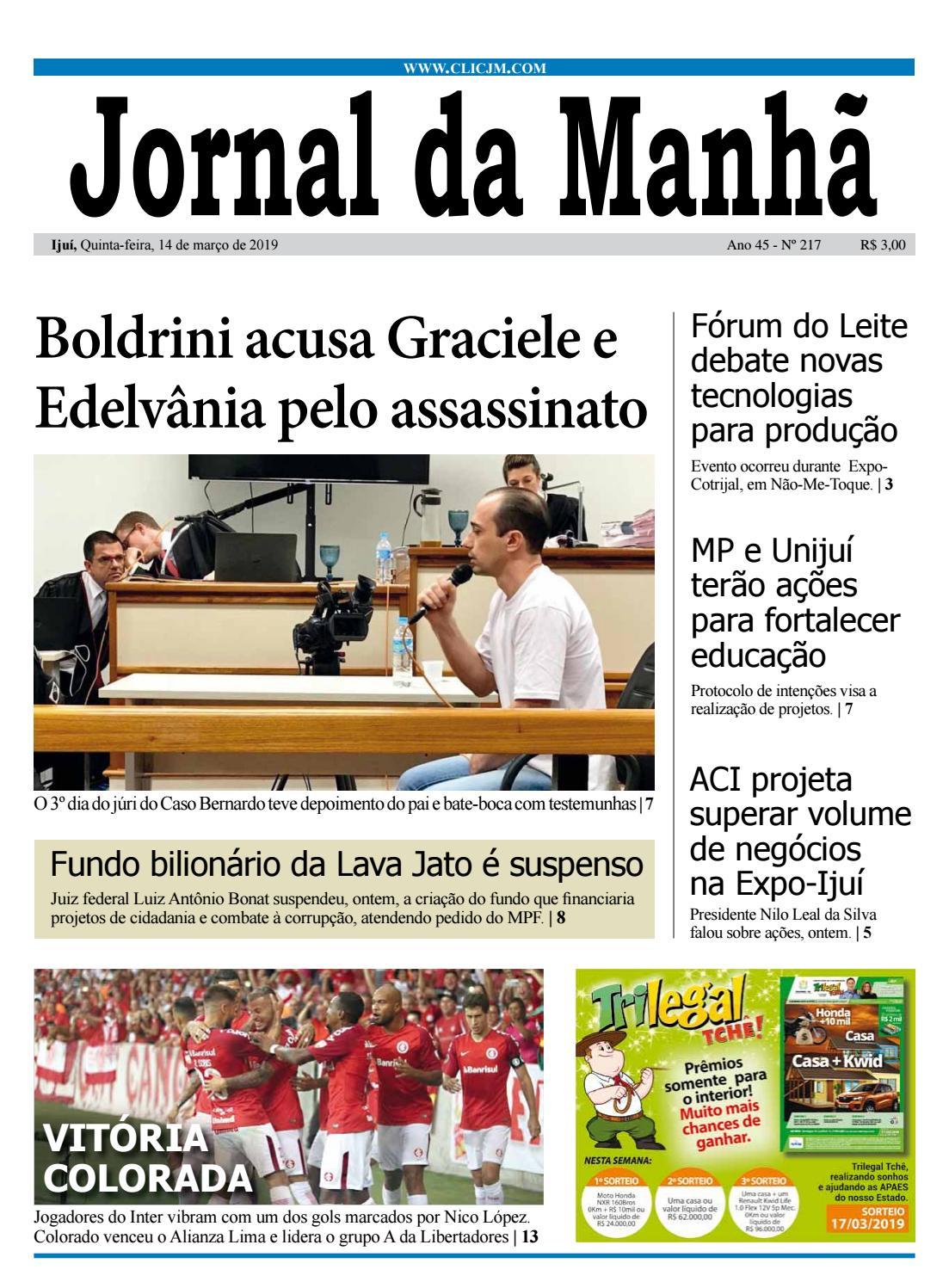 de3c5be2c8065 Jornal da Manhã - Quinta-feira - 14-03-2019 by clicjm - issuu