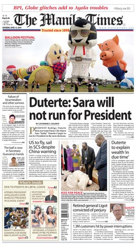 The Manila Times | April 13, 2019 by The Manila Times - issuu