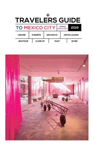 6ec3001a0 Carta del Concierge Welcome to Mexico City! We invite you to enjoy a  memorable experience in a destination with extraordinary cultural richness  and a unique ...