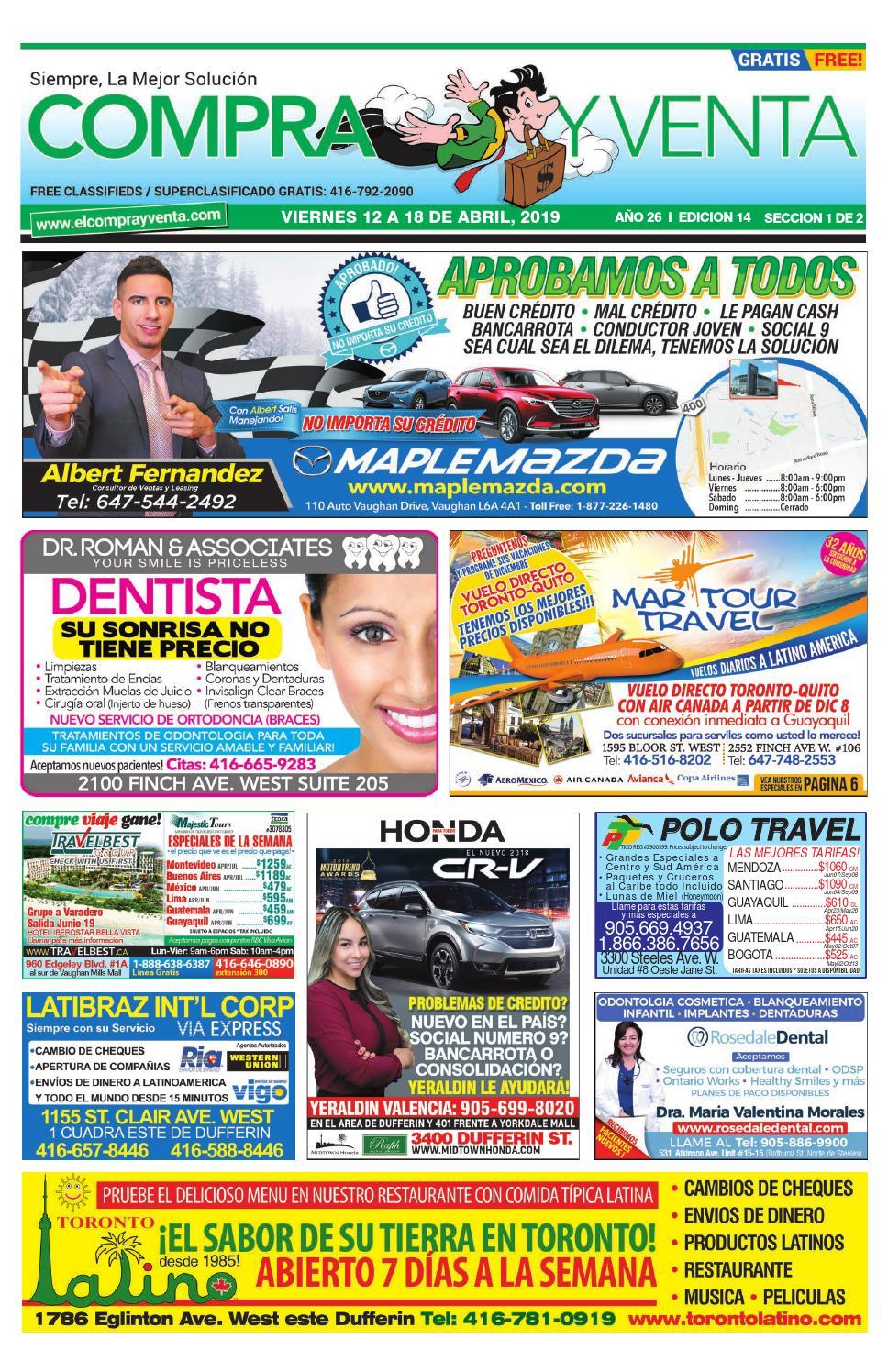 5c5768d27 Compra y Venta Edición  14. 2019 by elcomprayventa - issuu