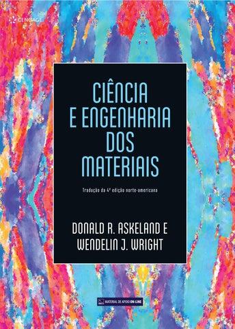 Ciência E Engenharia Dos Materiais By Cengage Brasil Issuu