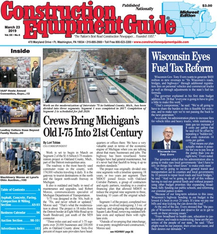 Midwest 6 March 23, 2019 by Construction Equipment Guide - issuu