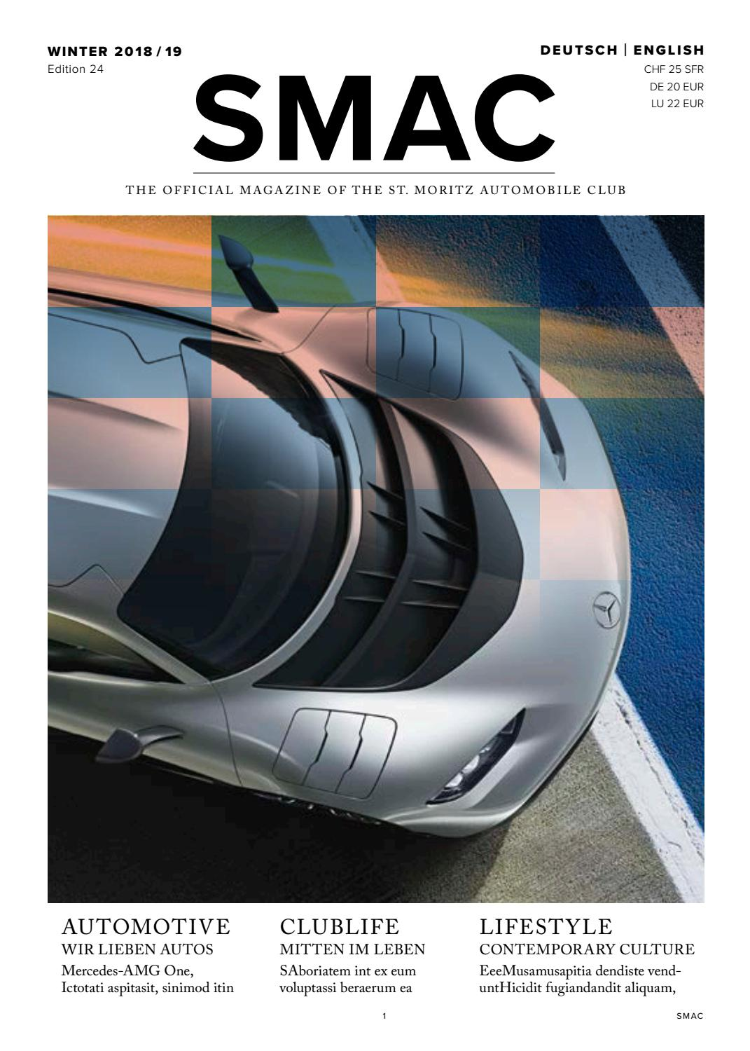 SMAC - The official magazine of the St. Moritz Automobile ...