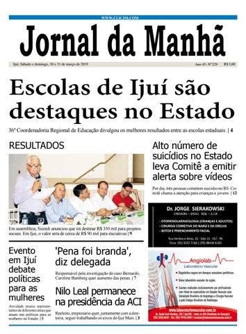 1fca8934c Jornal da Manhã - Sábado - 30-03-2019 by clicjm - issuu