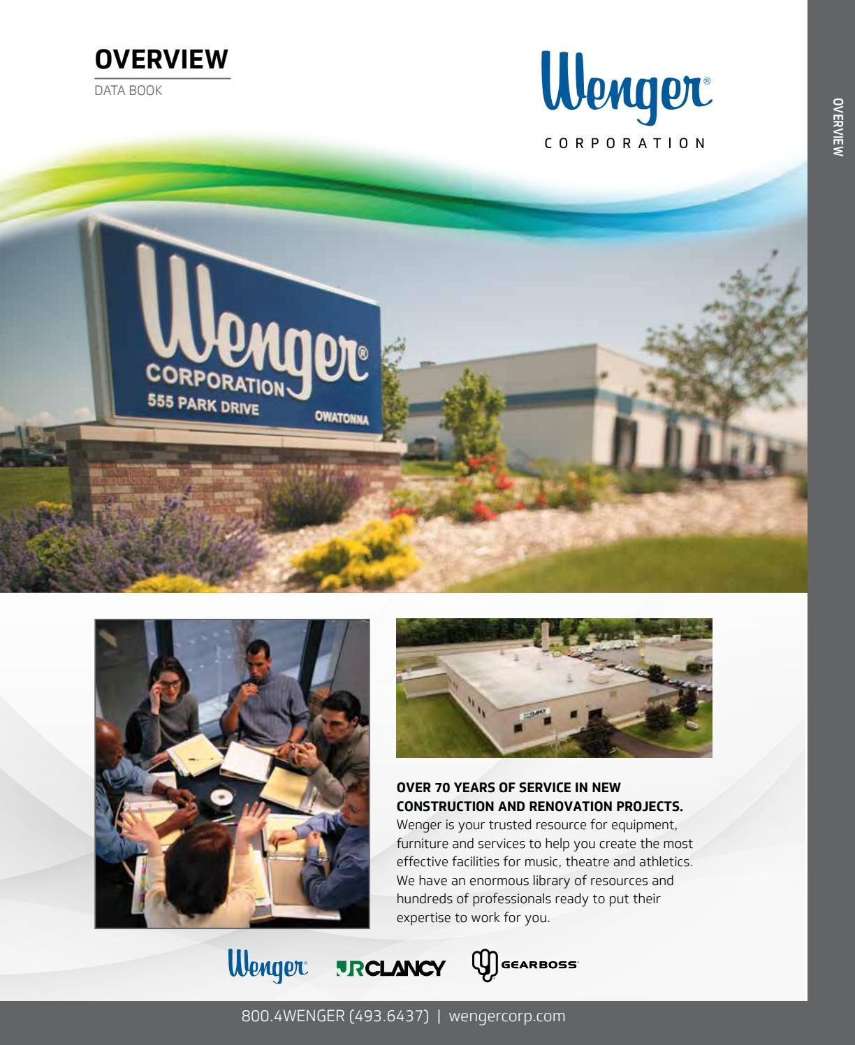 dfcbdcb068270 Wenger Data Book by Wenger Corporation - issuu