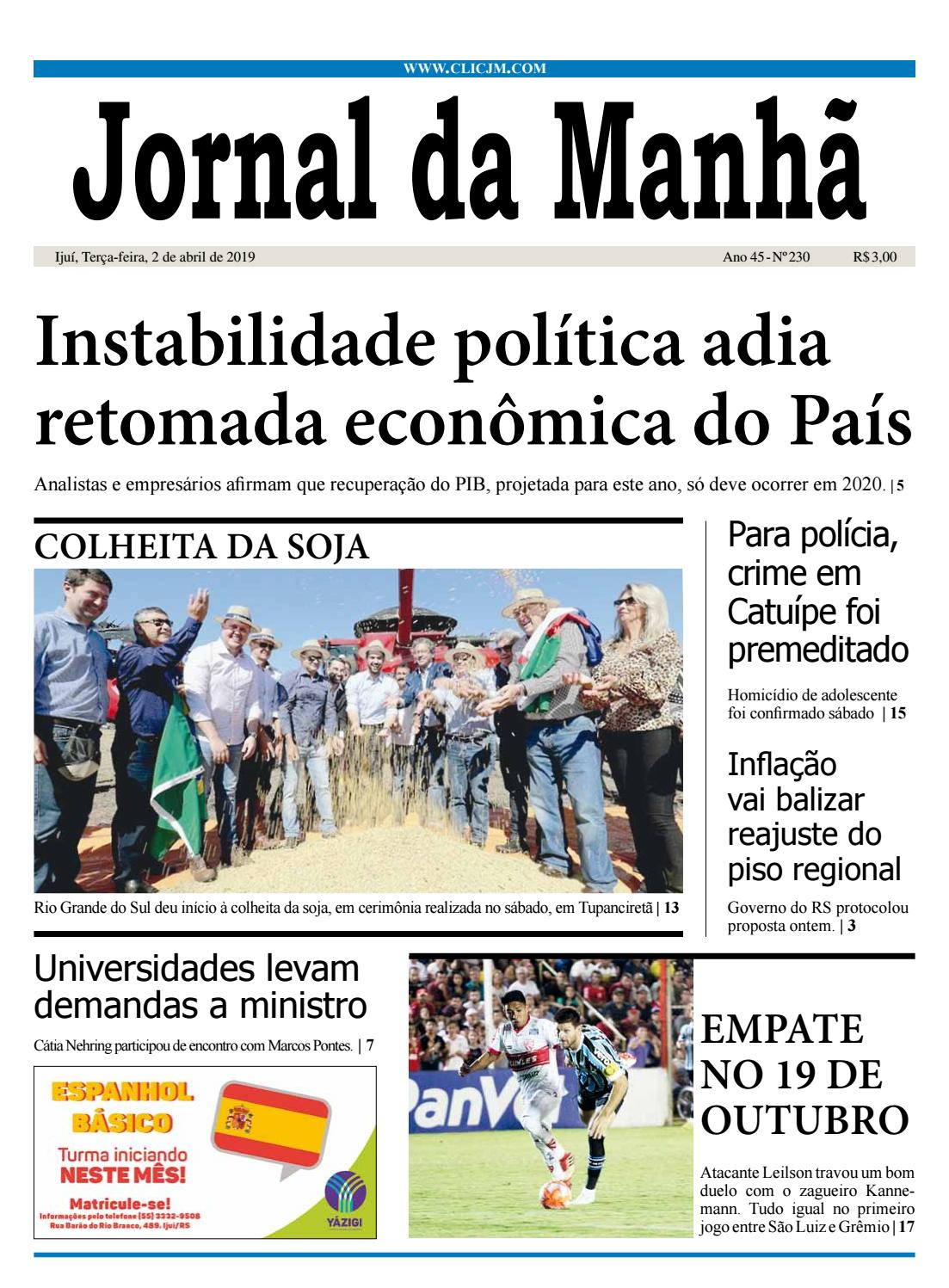 4e49d44482b Jornal da Manhã - Terça-feira - 02-04-2019 by clicjm - issuu