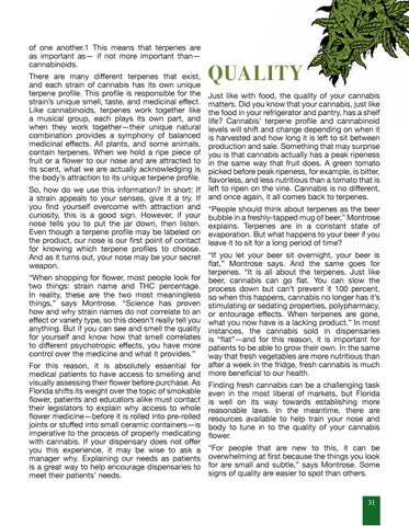 Page 31 of Choosing Your Cannabis Flower with Max Montrose