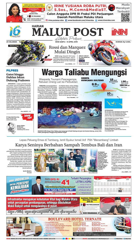 Warga Taliabu Mengungsi By Malut Post Issuu