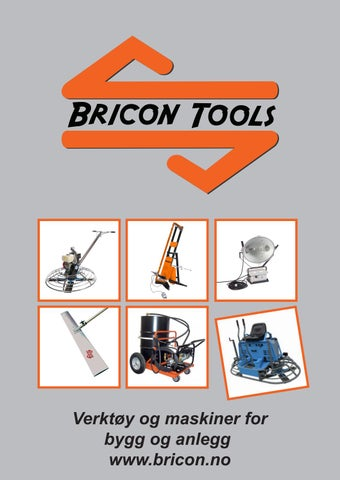 Page 1 of Bricon Tools katalog