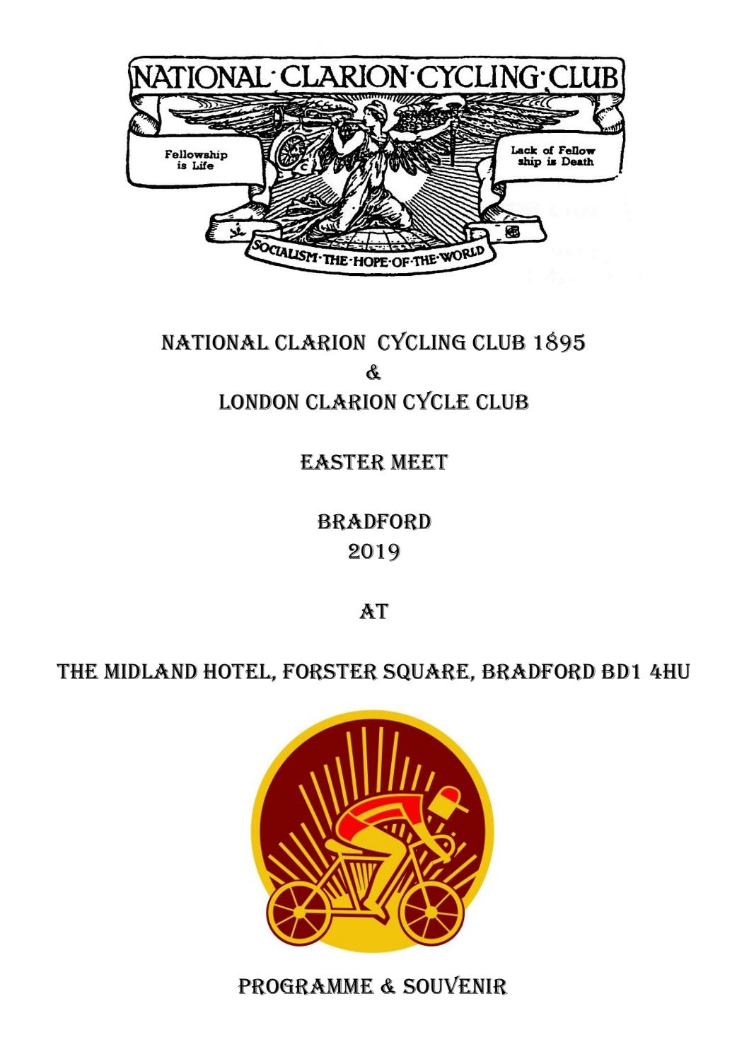 London Cycling Club >> National Clarion Cycling Club 1895 London Clarion Cycle