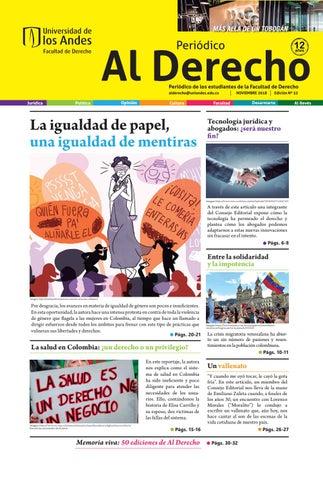 7f4989abb Periódico Al Derecho Edición 52 by Periódico Al Derecho - issuu