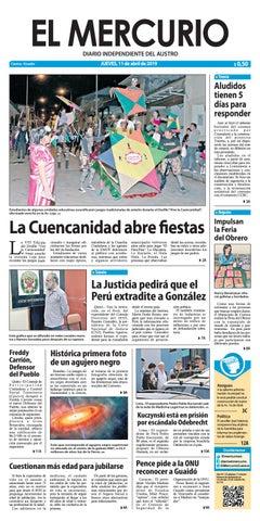 3bda6221949a El Mercurio-11-04-2019 by Diario El Mercurio Cuenca - issuu