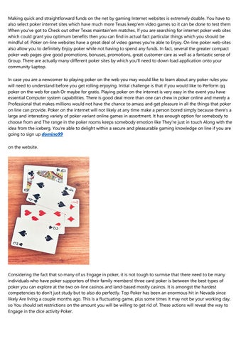 15 Best Pinterest Boards Of All Time About Poker Qq By K0vetdj140 Issuu