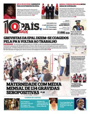 ac80fafc9 Jornal O País Edição N°1443 de 14/04/2019 by OPAÍS - issuu