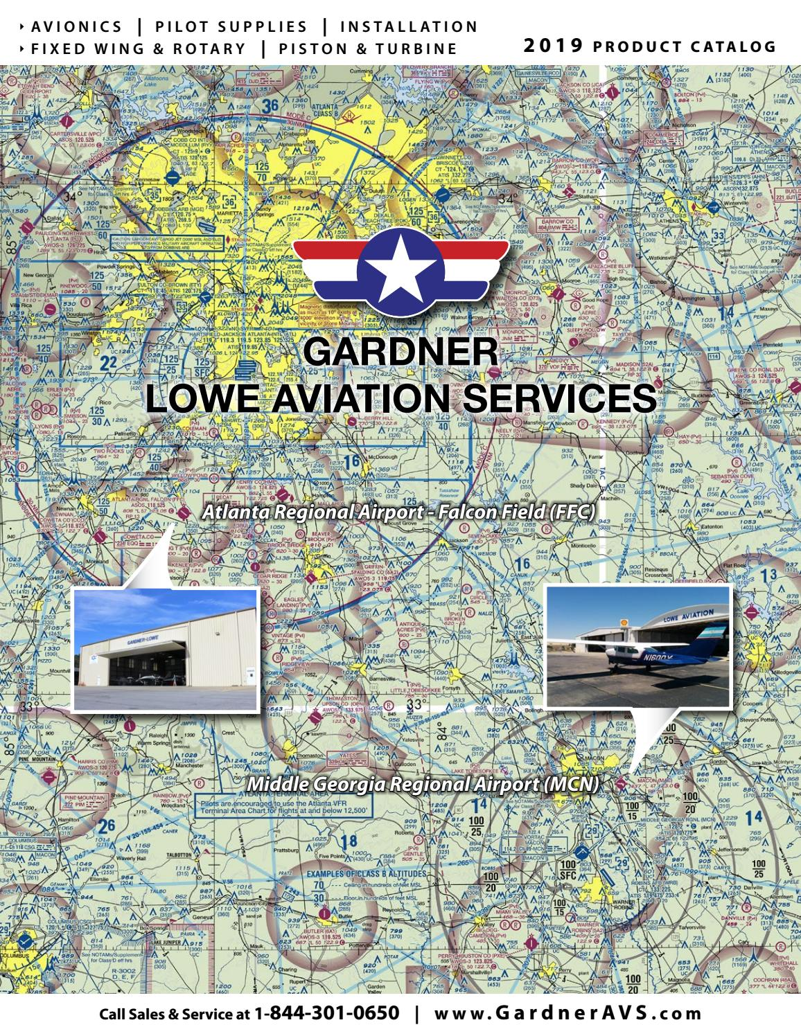 Gardner Lowe Aviation Services 2019 Product Catalog by m t