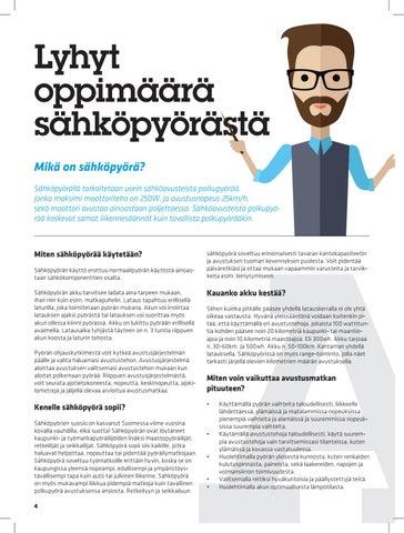 Page 4 of Lyhyt oppimäärä sähköpyörästä