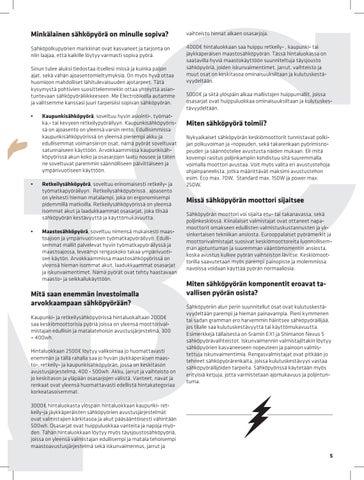Page 5 of Lyhyt oppimäärä sähköpyörästä