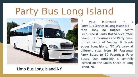 Page 2 of Party Bus Service in Long Island NY