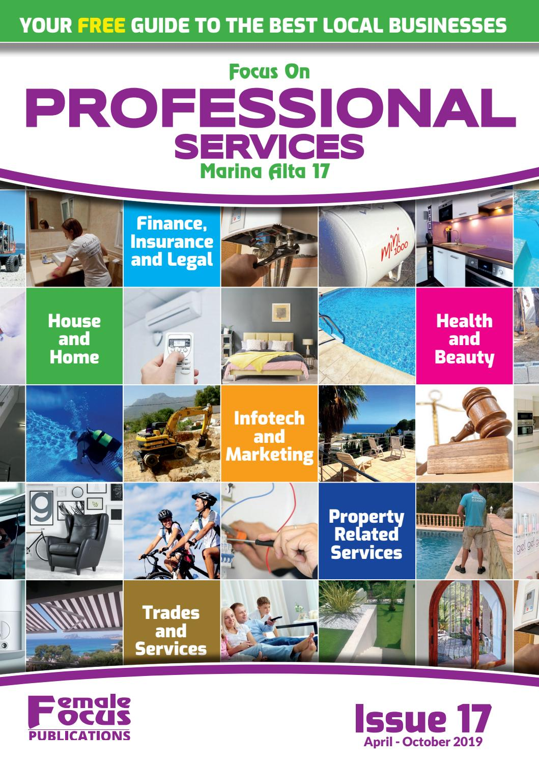 Focus on Professional Services Marina Alta - Issue 17 by Female