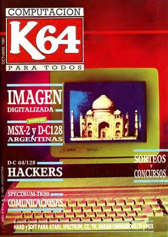 bb8efdb90 Número 31 de la revista #Tech K64 año 1987 by Ariel Corgatelli - issuu