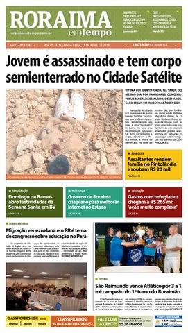 9978ef46a Jornal Roraima em tempo – edição 1198 by RoraimaEmTempo - issuu