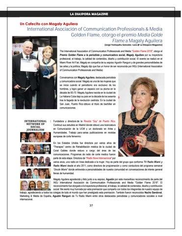Page 37 of LA DIASPORA MAGAZINE