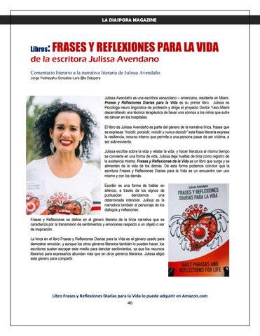 Page 46 of LA DIASPORA MAGAZINE 2019