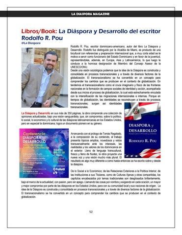 Page 52 of LA DIASPORA MAGAZINE