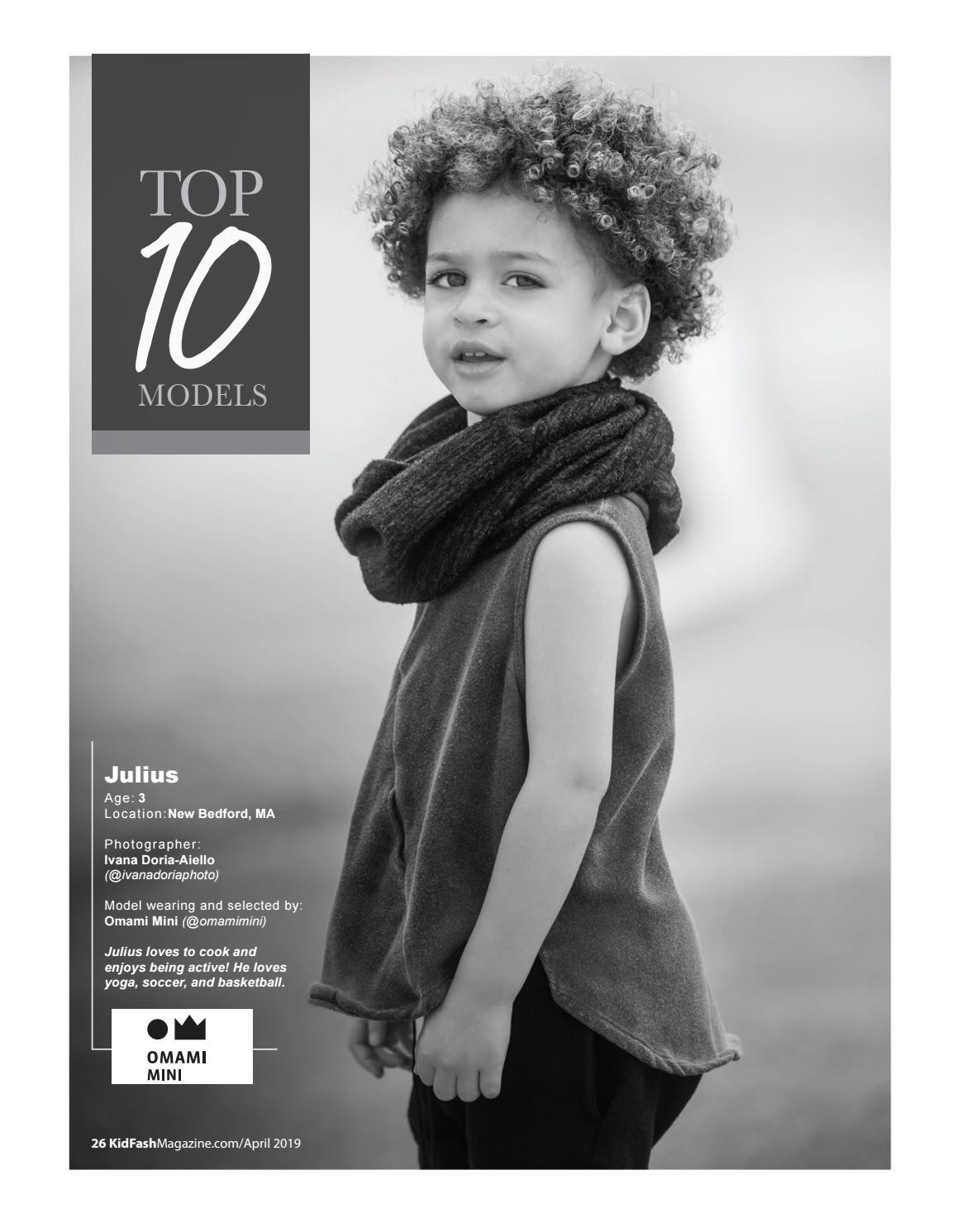 KidFash Magazine Issue 15 (Black & White) by KidFash