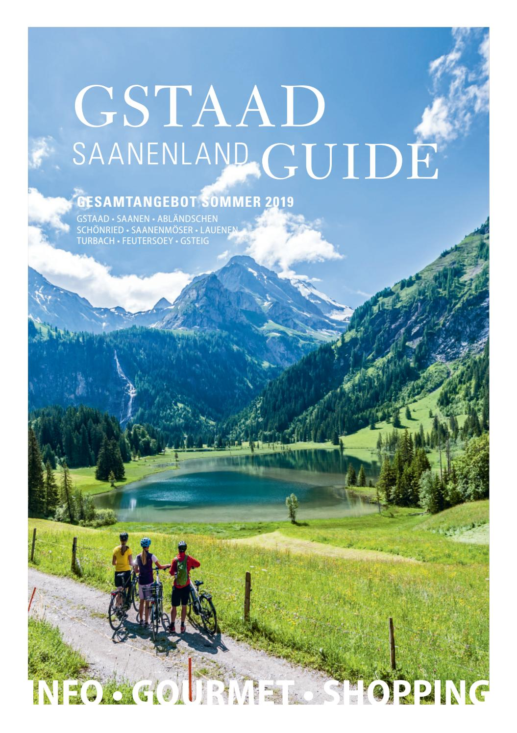 Gstaad Saanenland Guide Sommer 2019 by Müller Medien - issuu