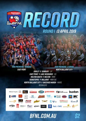 BFNL Round 1 Record by Adcell Group - issuu