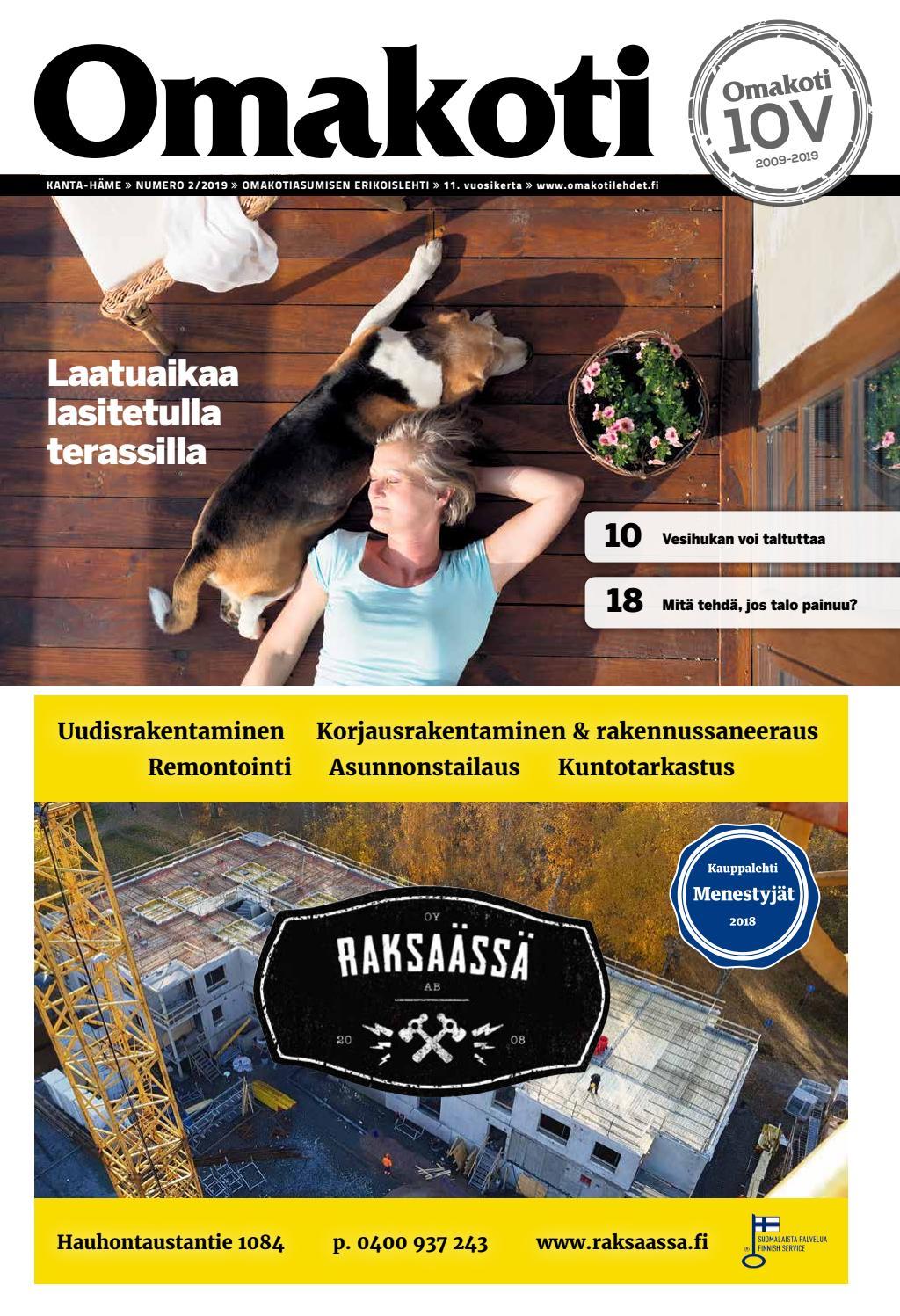timeless design 08f27 1368f Omakoti Kanta-Häme by Media Potentia Oy - issuu