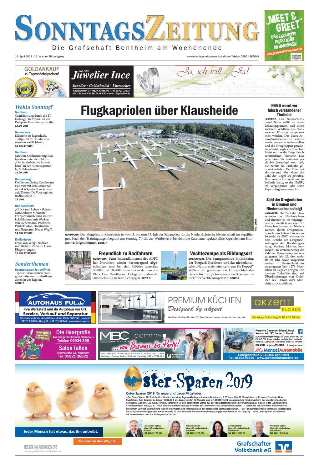 SonntagsZeitung_2019_0414 by Grafschafter Nachrichten issuu