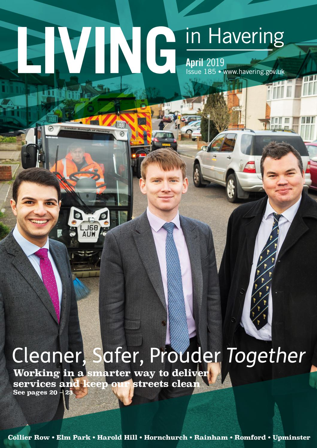 b6130ad1f827 Living in Havering 185 April 2019 by Havering Council - issuu