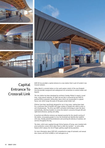 Page 18 of Capital Entrance to Crossrail Link