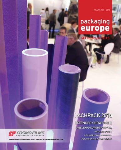 info for fb6df 6210c Packaging Europe Issue 10.5
