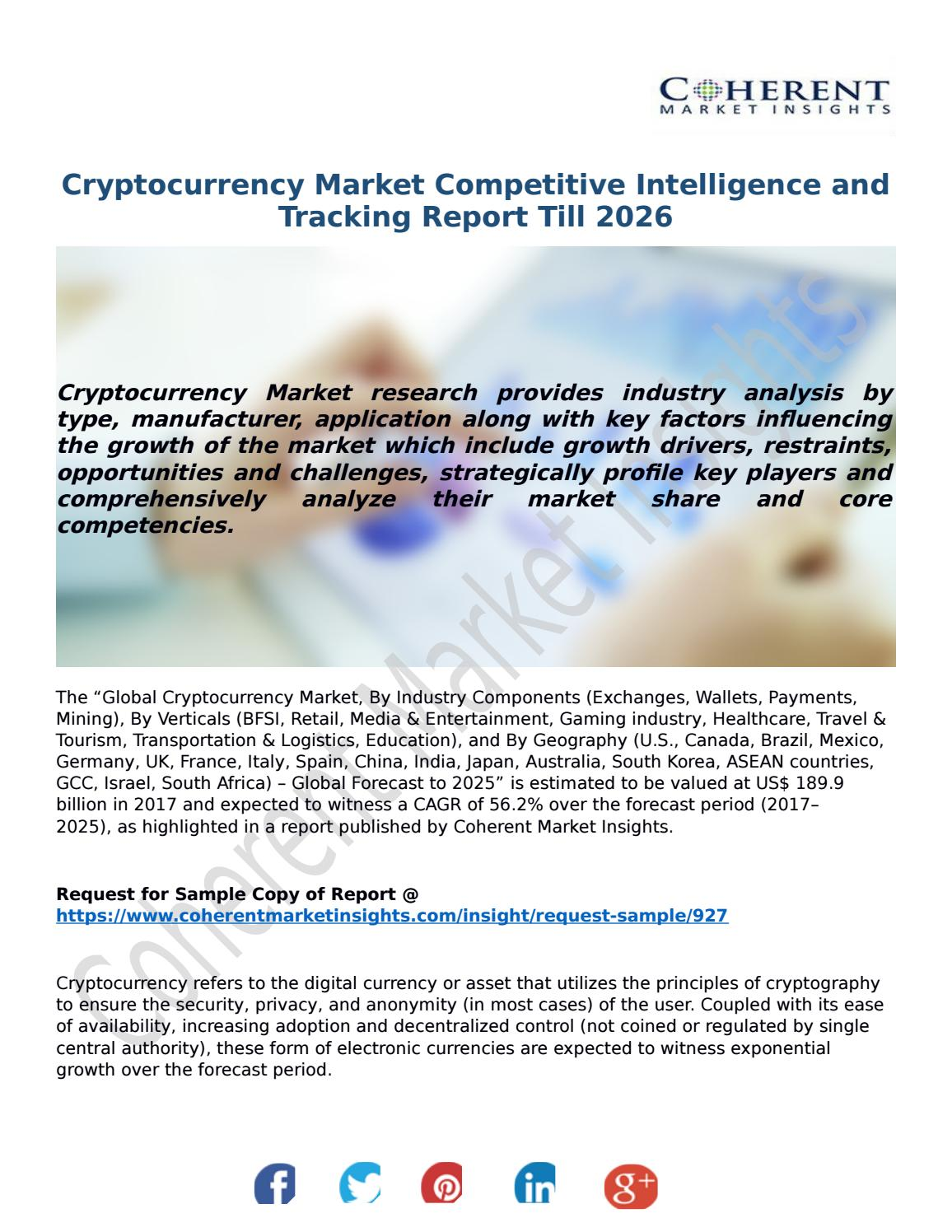 cryptocurrency market researcher