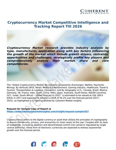 cryptocurrency mining market report