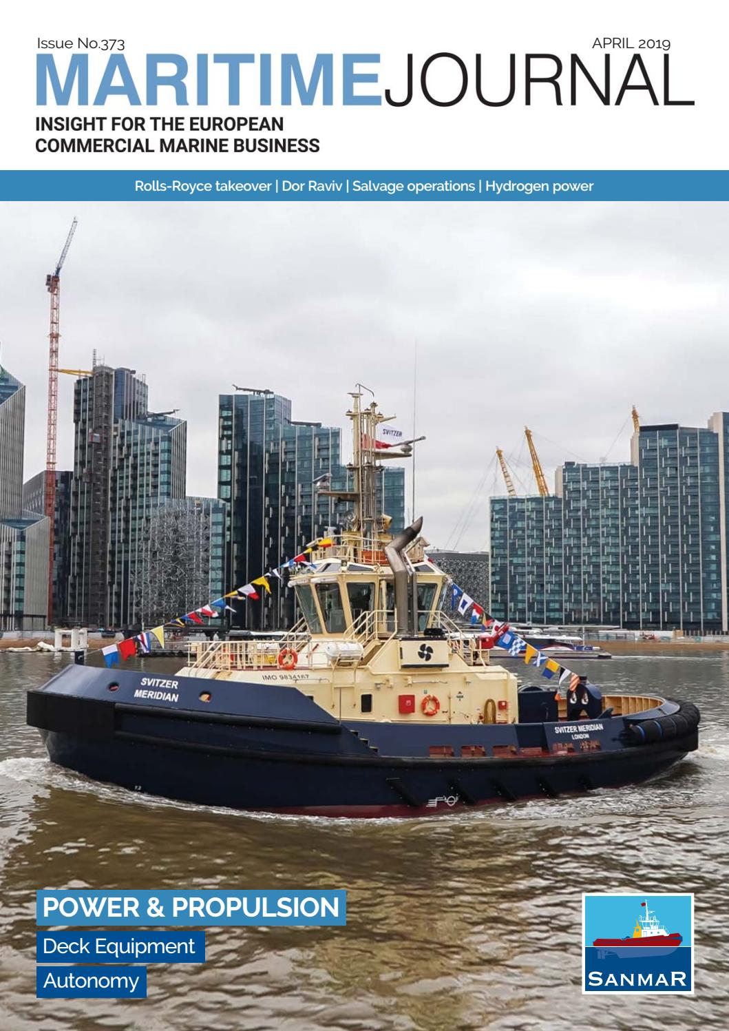 Maritime Journal April 2019 by Mercator Media - issuu