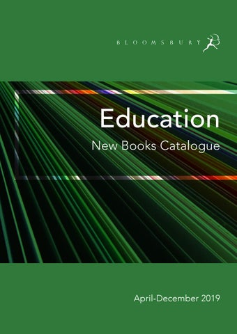 Education Catalogue April-December 2019 by Bloomsbury Publishing - issuu