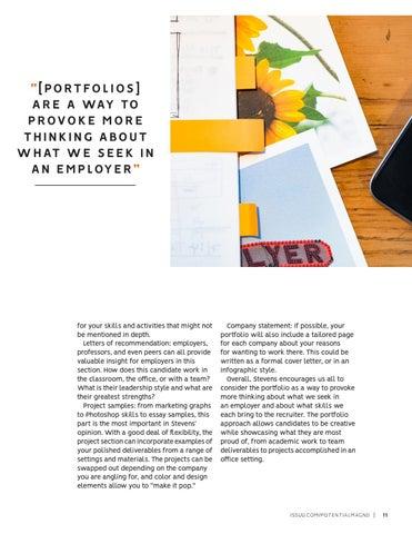 Page 11 of The Portfolio