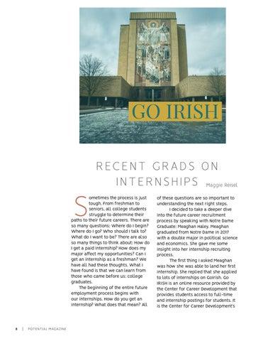 Page 8 of Recent Grads on Internships