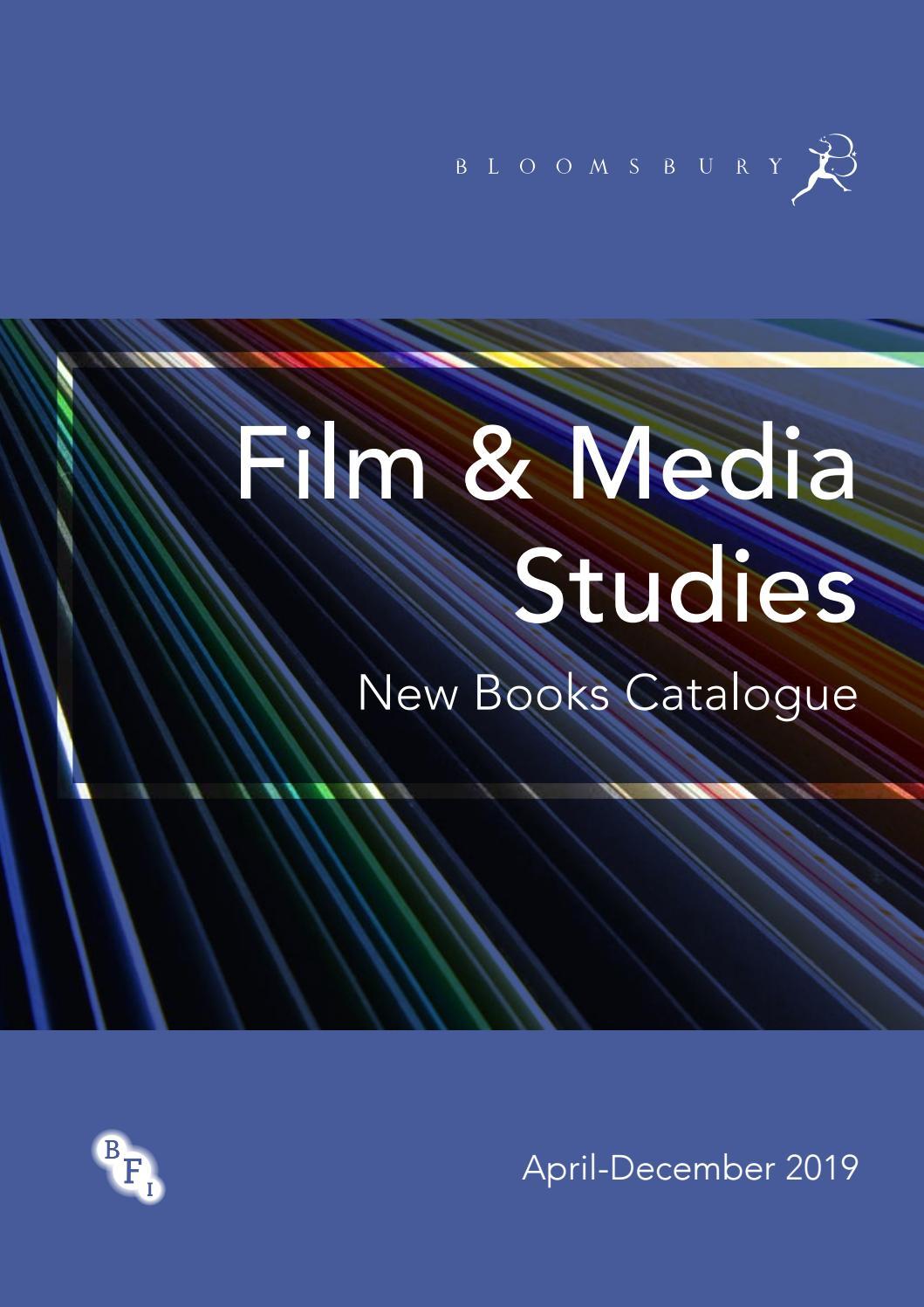 Film & Media Studies Catalogue April-December 2019