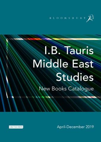 I B  Tauris Middle East Studies Catalogue April-December