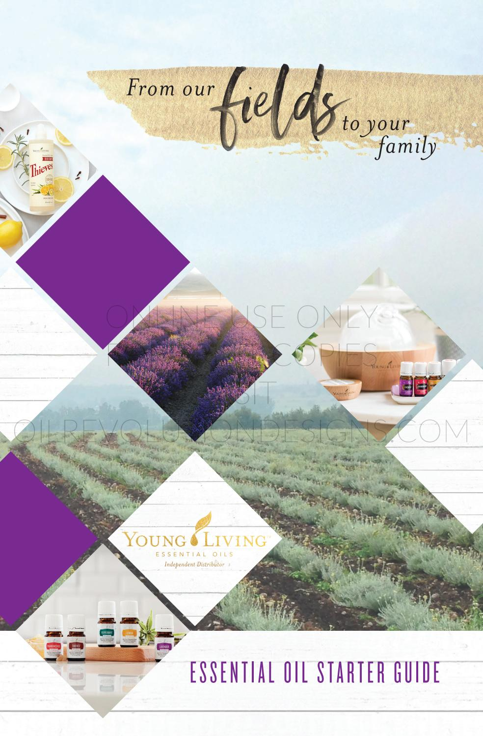 Oily Families Essential Oil Starter Guide By Oil Revolution Designs Issuu